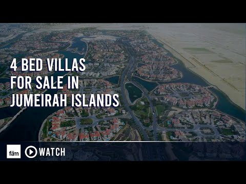 Jumeirah Islands - 4 Bedroom Villas for Sale in Dubai