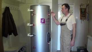 Обзор бойлера косвенного нагрева на 300 литров ЧАСТЬ 1