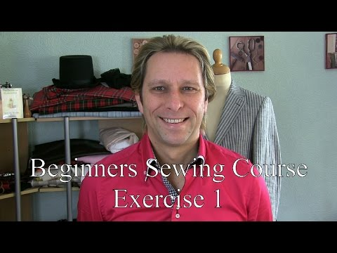 The Beginners Sewing Course - Exercise 1
