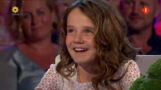 amira willighagen interviewed and sings for unicef action dutch tv 16 july 2014