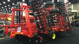 Sunflower 6830 Rotary Finisher Intro at the 2016 National Farm Machinery Show