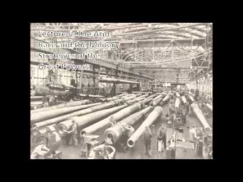 Lecture 6 The Arms Race and the Military Strategies of the Great Powers