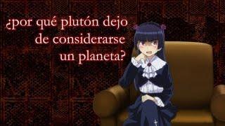 ¿por qué plutón dejo de considerarse un planeta?