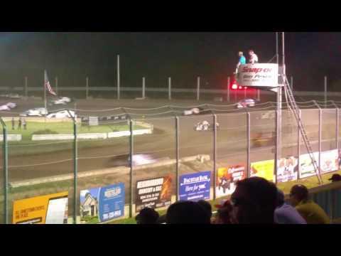 Jamestown Speedway IMCA Modified Feature, 6/18/16