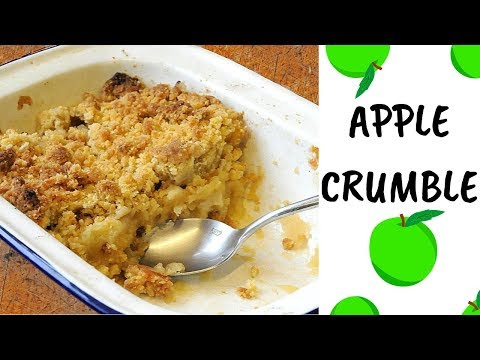 Traditional Apple Crumble Recipe :) Cook With Me!