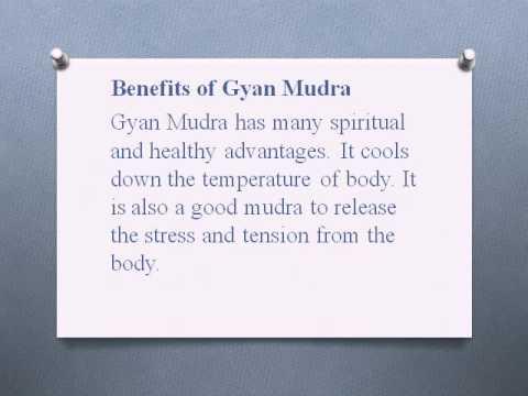 Gyan mudra benefits