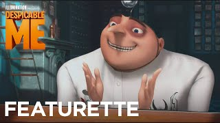 "Despicable Me - Featurette: ""Steve Carell: I get to be a bad guy!"" - Illumination"