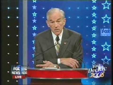 Terrorism: Ron Paul vs. Giuliani @ SC Debate