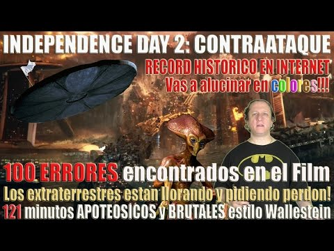 Independence Day 2 : contraataque - 100 errores, cagadas e incoherencias, por James Wallestein