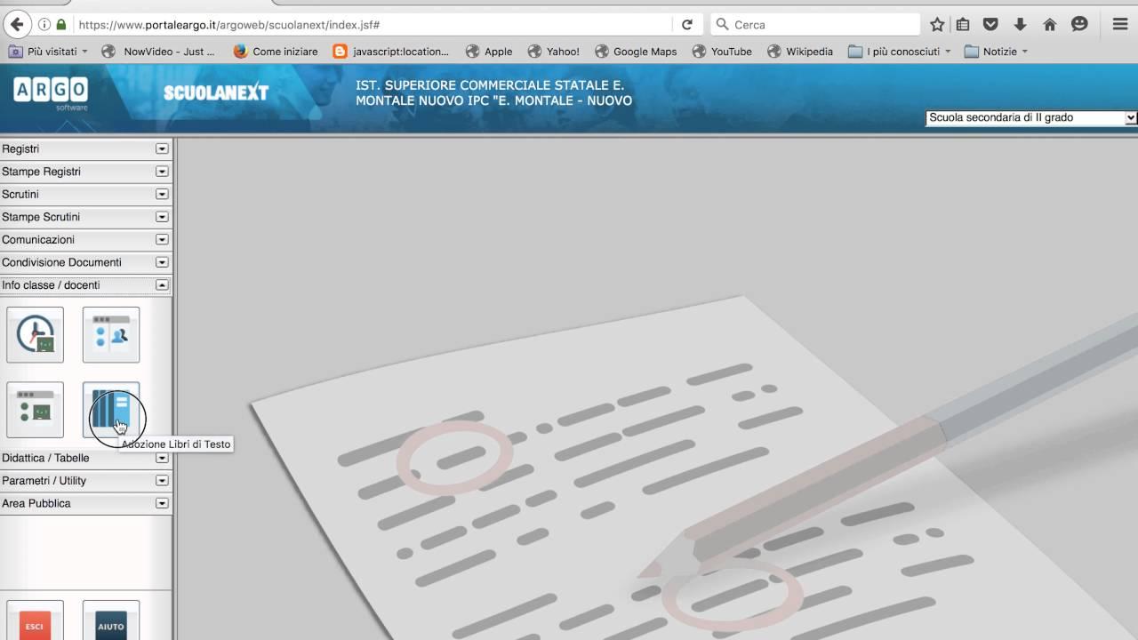 Risultati immagini per caricamento libri di testo