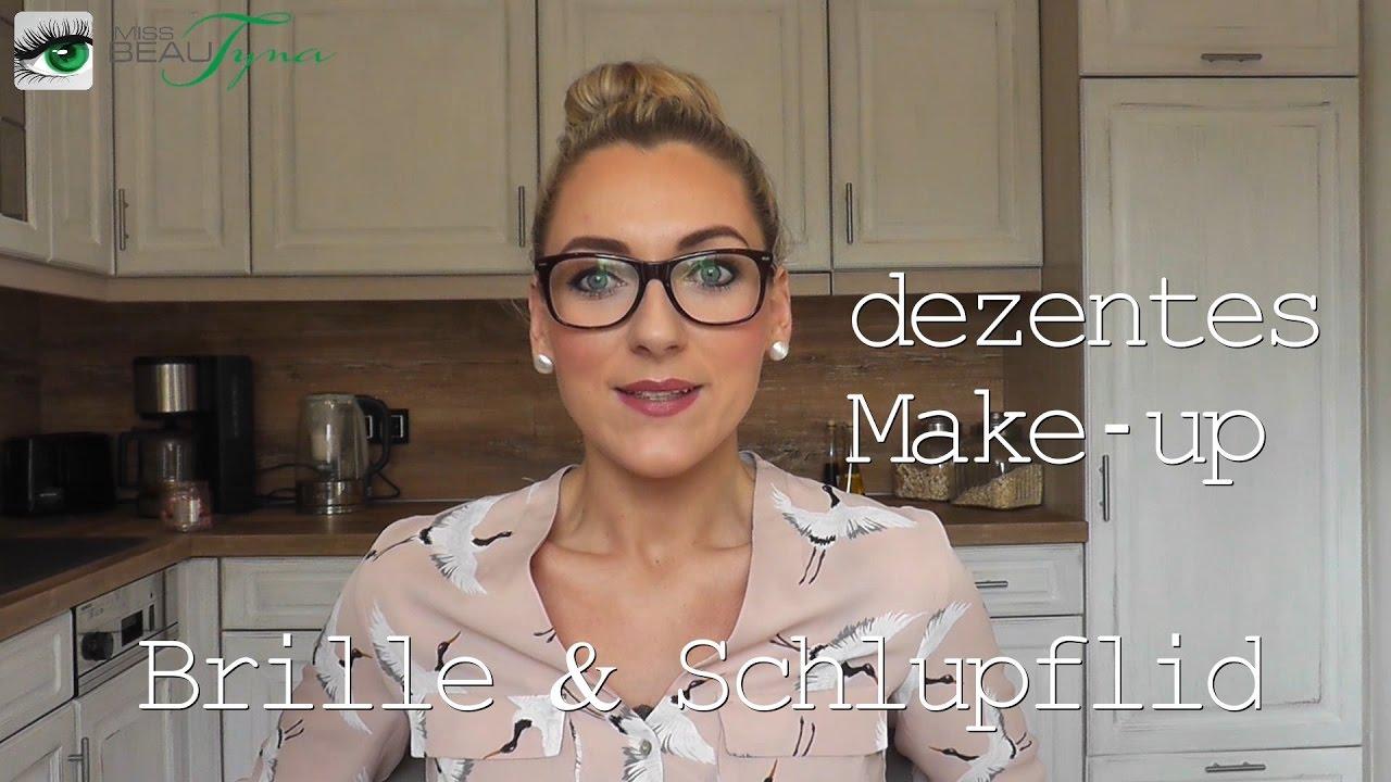 brillen make up 2 schlupflid schmink tipps youtube. Black Bedroom Furniture Sets. Home Design Ideas