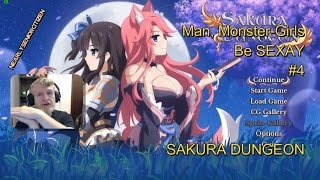 MAN, Monster-Girls Be SEX-AY #4 - SAKURA DUNGEON