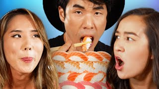 Try Guys 300 Sushi pc. Mukbang ft. The Food Babies