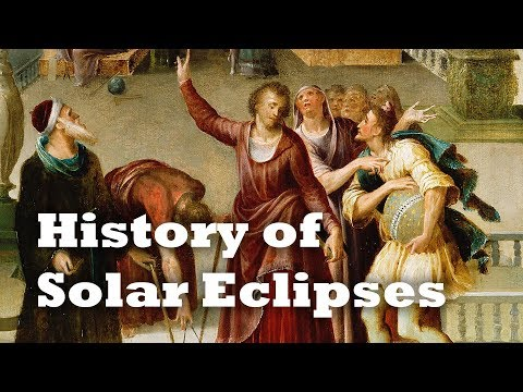 The Eclipse that Stopped a War: History of Solar Eclipses