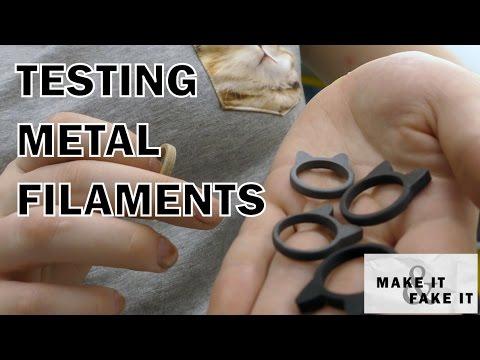 Testing Metal Filaments