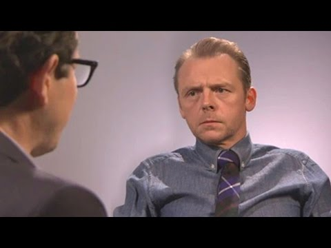 Simon Pegg Interview Video - HE HATES NERDS?