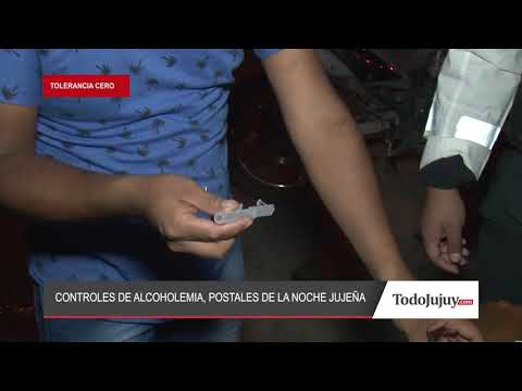 Controles de alcoholemia desde adentro: tests a colectiveros