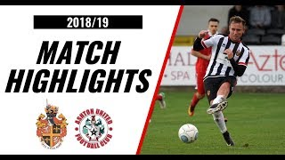 HIGHLIGHTS | Spennymoor Town 5-0 Ashton United | 2018/19