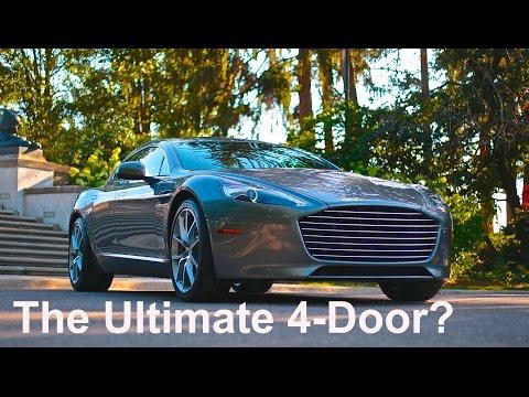The Ultimate 4-Door? 2015 Aston Martin Rapide S Review