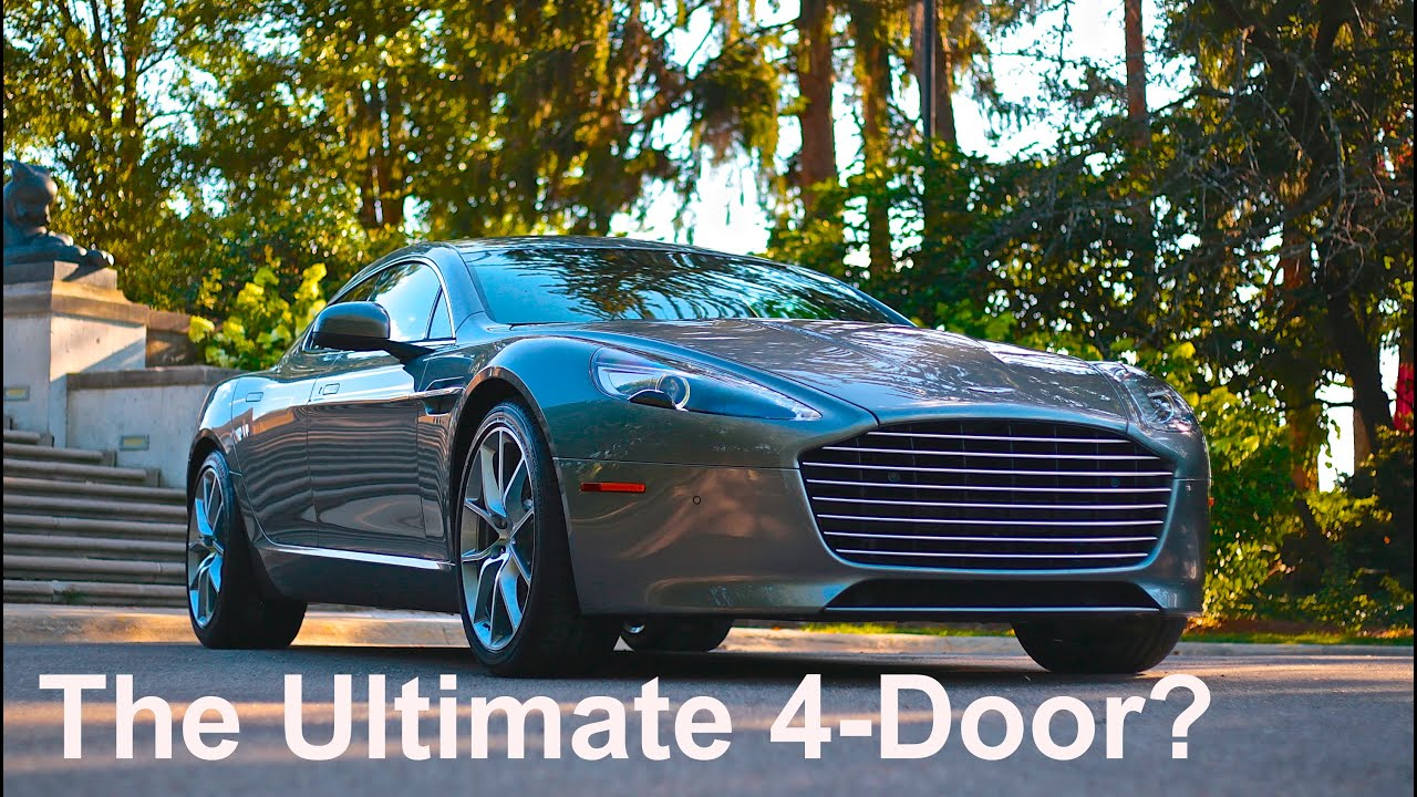 & The Ultimate 4-Door? 2015 Aston Martin Rapide S Review - YouTube