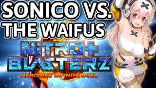 Nitroplus Blasterz Heroines Infinite Duel - Review - Tarks Gauntlet