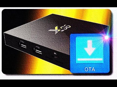 x96 Android TV Box обновление по OTA  - YouTube