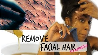 SKIN| How to Remove Facial Hair Permanently !