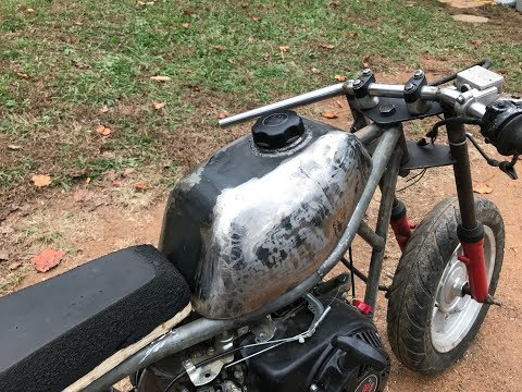 making a home made motorcycle gas tank