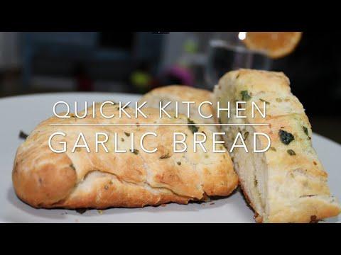 Garlic Bread   Cheese Garlic Bread   Dominos   Simple Way To Make At Home    Soft, Spongy & Cheesy