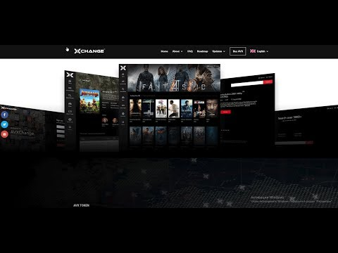 AVXChange  p2p Блокчейн платформа для обмена аудио и видео контентом !!!