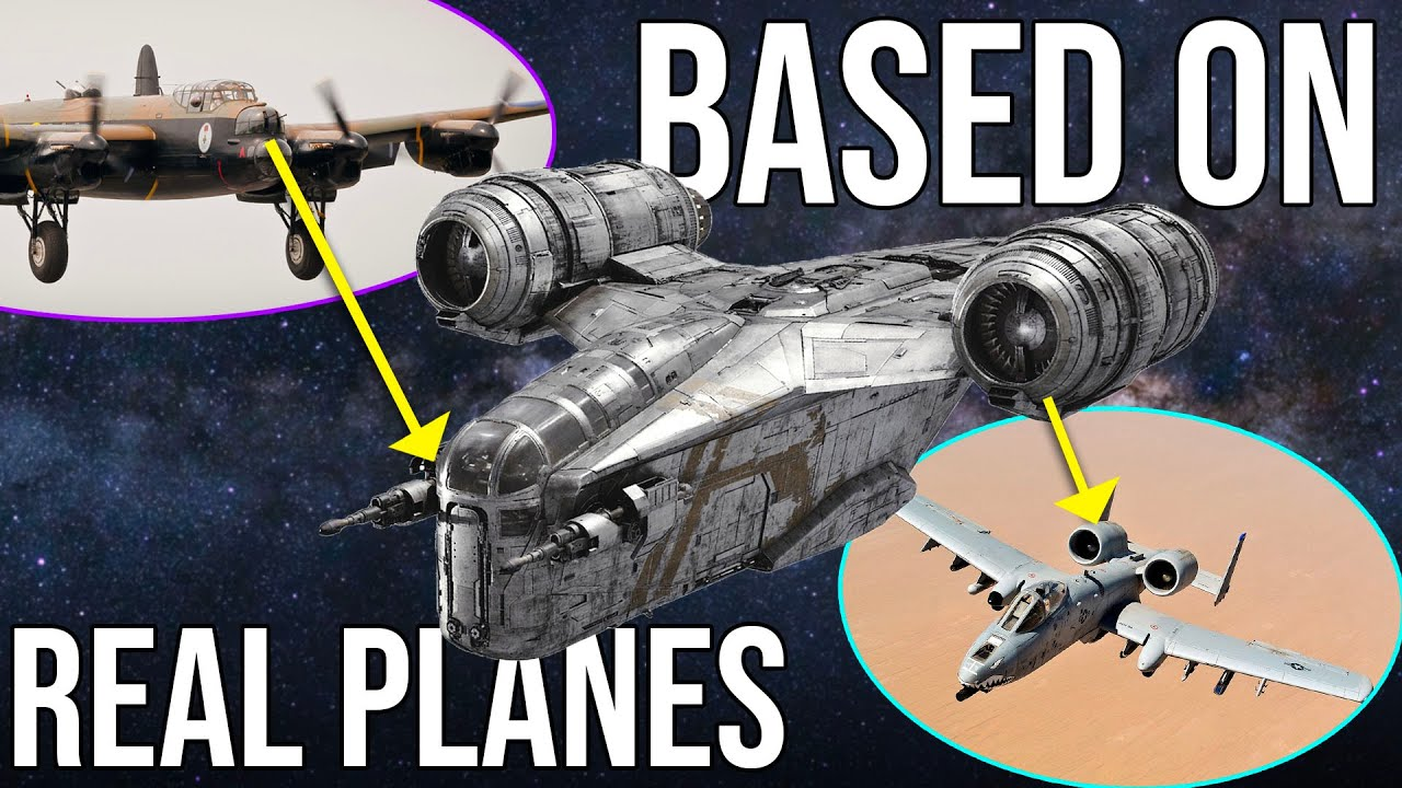 5 Sci-Fi Spacecraft Based on Real Life Aircraft