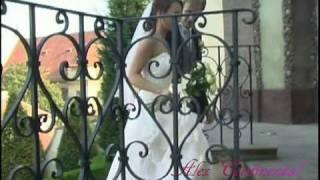 Свадьба в Чехии. Регистрация брака в пражских садах.
