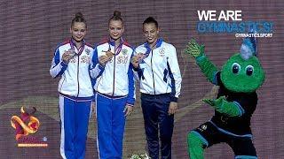2019 Rhythmic Worlds, Baku (AZE) – All-around Final, Highlights - We are Gymnastics ! Video