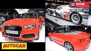 audi a3 sedan cabriolet auto expo 2014   kotak mahindra prime presents expo buzz 2014
