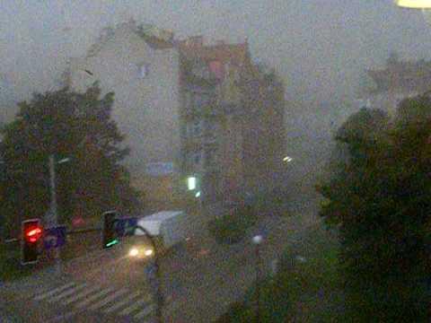 Legnica-huragan początek