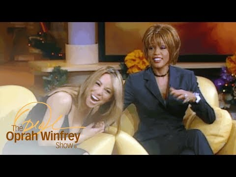Mariah Carey And Whitney Houston Shut Down Rumors That They're Rivals   The Oprah Winfrey Show   OWN