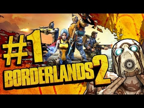 Borderlands 2 Koop #1 - Let's Play Borderlands 2 Gameplay German Together