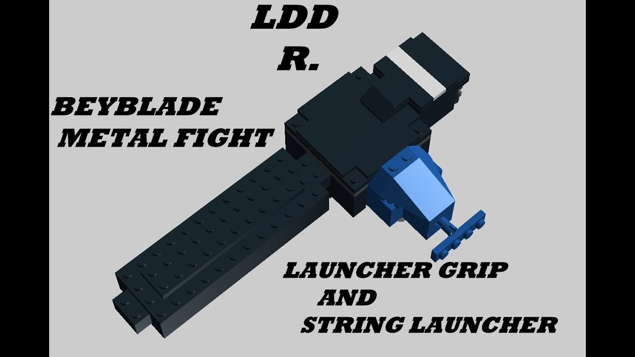 Lego Beyblade Metal Fight Launcher Grip And String