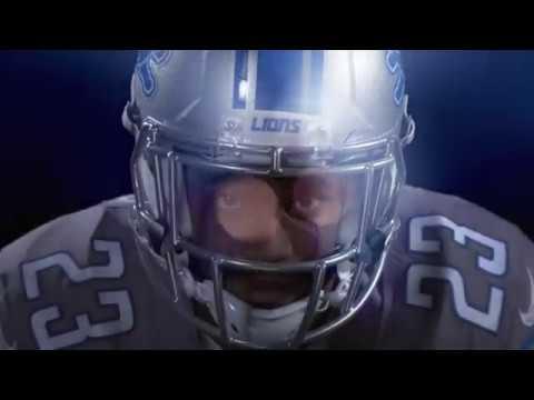 2017 Detroit Lions Uniform Reveal
