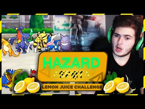 Lemon Juice Challenge! | Hazard Spot! (ORAS Wi-Fi Battle Challenge Series)
