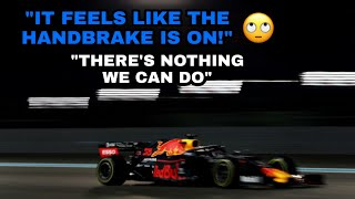 Max Verstappen Frustrated About Honda Engine During Abu Dhabi Gp 2019!