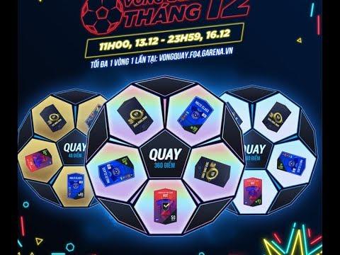 VÒNG QUAY MAY MẮN THÁNG 12 – CHUYỂN SÒ SANG FC NHẬN NGAY OTW +5 FIFAONLINE 4