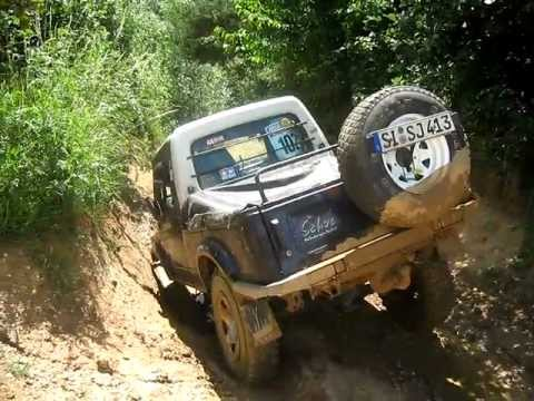 suzuki samurai long saverne offroad youtube. Black Bedroom Furniture Sets. Home Design Ideas