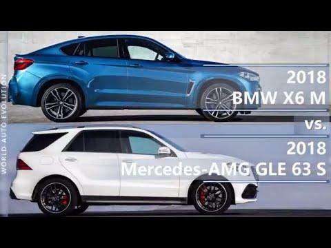 2018 BMW X6 M vs 2018 Mercedes AMG GLE 63 S (technical comparison)