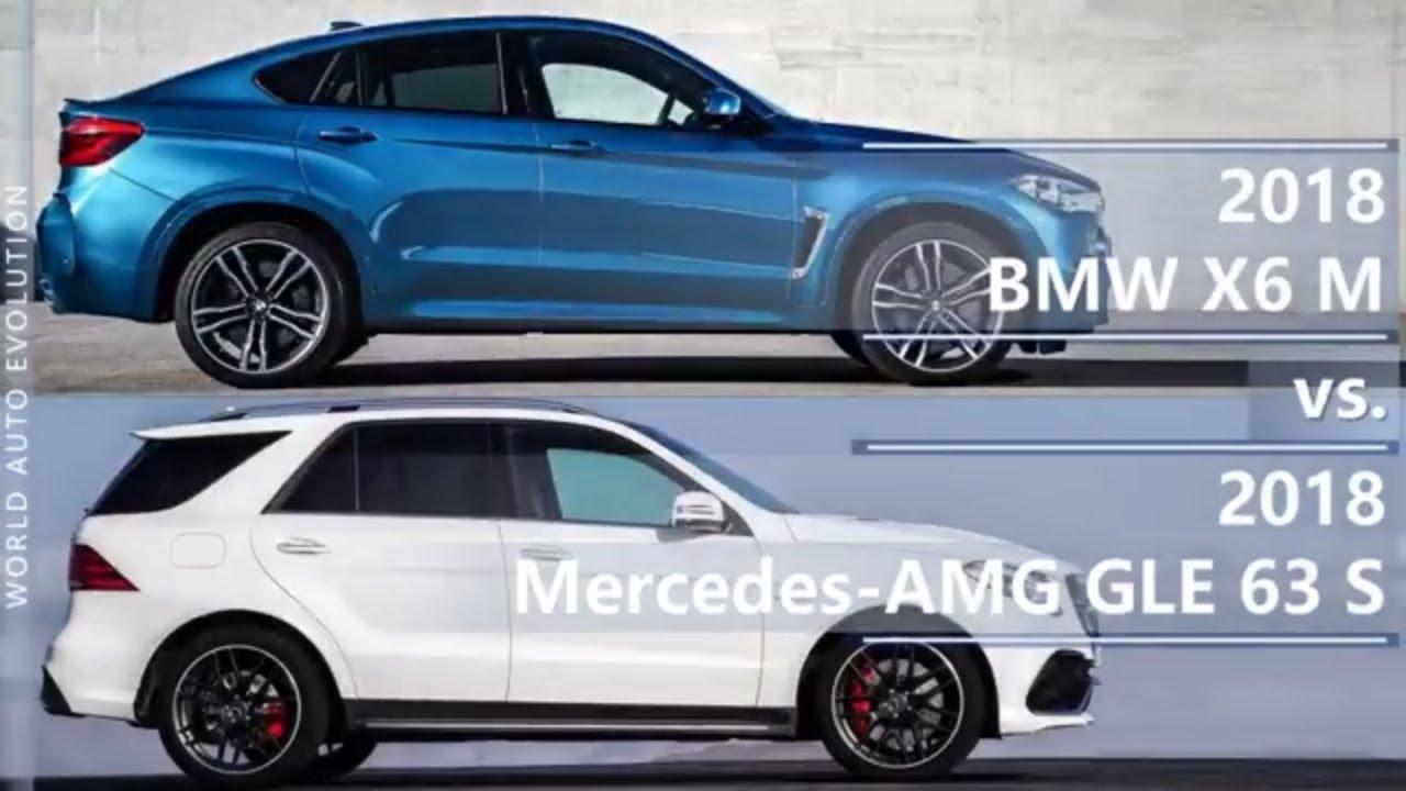 2018 Bmw X6 M Vs 2018 Mercedes Amg Gle 63 S Technical Comparison