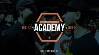 Blittz Vs Judge T | Academy 18 |Rap Battle