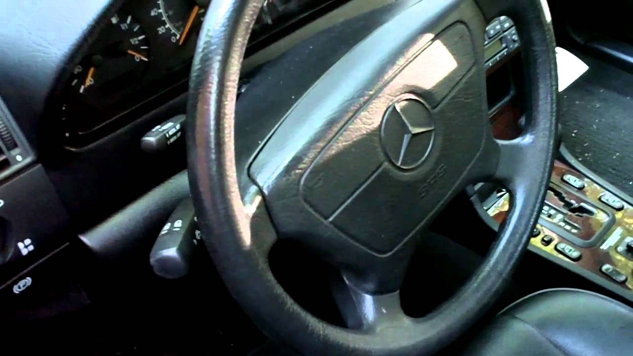 Replace Light Switch >> how to replace the steering center link and tie rods, Mercedes w202 - YouTube