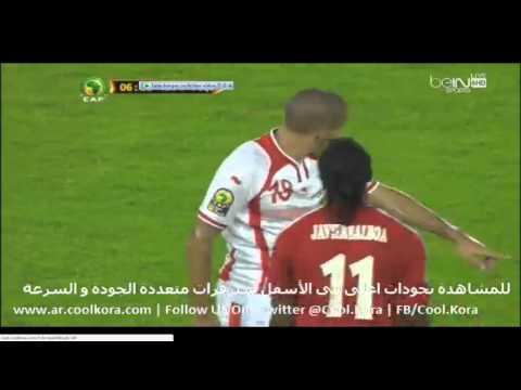 CAN 2015 EQUATORIAL GUINEA 2 vs 1 TUNISIA BeIN Sports 6HD عصام الشوالي