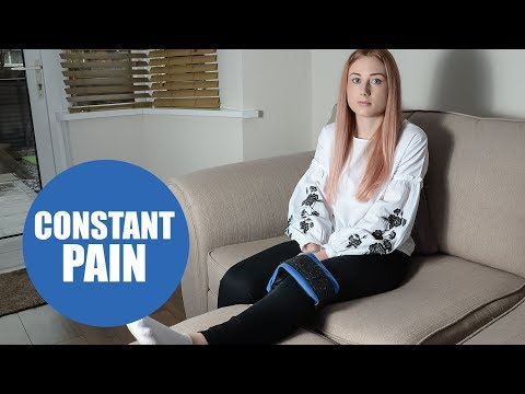 Young woman with incurable condition which leaves her in constant pain