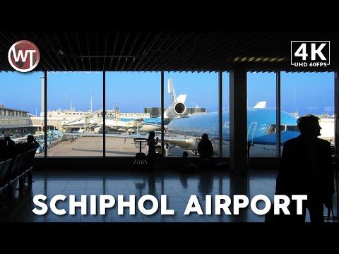 Schiphol Airport, Transit Area (Part2) - 🇳🇱 Netherlands - 4K Virtual Tour